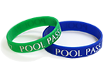 Wristband Pool Passes