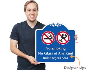 Designer sign