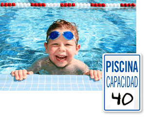 Spanish Pool Safety Signs