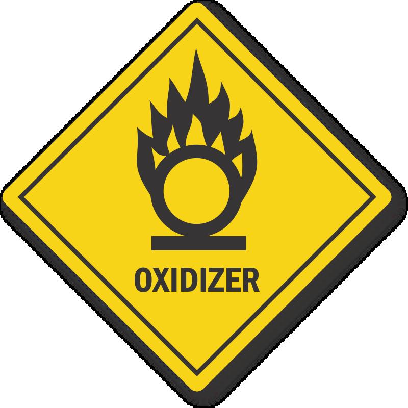 Oklahoma Oxidizer Pool Chemical Label Sku Lb 4020