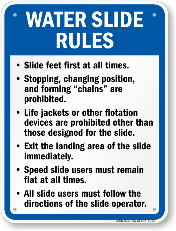 Ohio Swimming Pool Signs