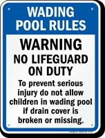 Wading Pool Rules for North Carolina