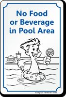No Food Or Beverages Sign