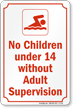 Pool Safety Rules Sign
