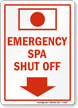 Emergency Spa Shut Off