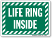 Life Ring Inside Sign