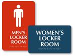 Locker Room Signs