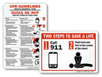More CPR Signs