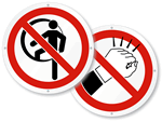 ISO Prohibited Action Labels