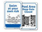 Swimmin' Sam Signs