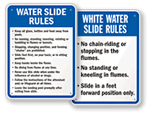 Water Slide Signs