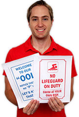 Free Pool Signs