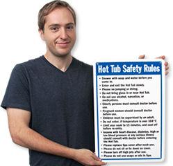 Hot Tub Signs