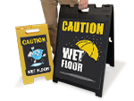More Slippery When Wet Signs