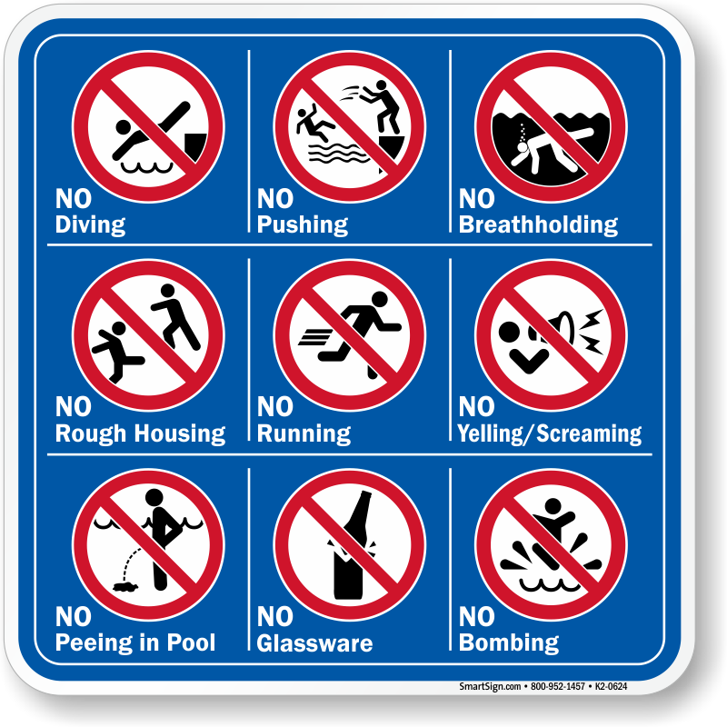 bb1a51fa8904 Swimming Pool Safety Signs