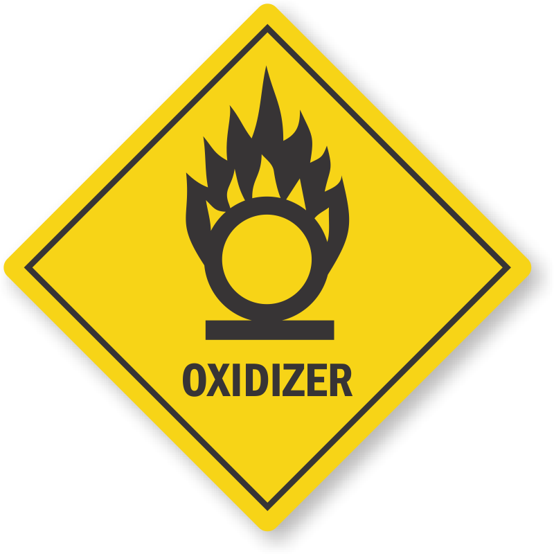 Oklahoma Oxidizer Pool Chemical Label Sku Lb 4020