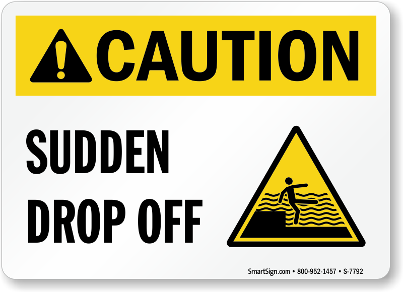 Caution Sudden Drop Off Pool Water Depth Sign, Sku S7792. Unusual Signs. Cristine Reyes Signs. Kid Xray Signs. Speed Signs. Property Signs. Opposite Signs. Nihss Signs. Long Neck Signs