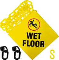 Janitorial Kit For Wet Floor Sign