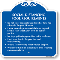 Social Distancing Pool Requirements