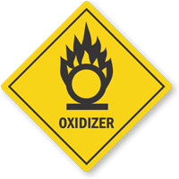 Oklahoma Oxidizer Pool Chemical Label
