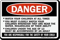 Watch Your Children Sign