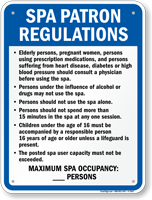 Illinois Spa Rules Sign
