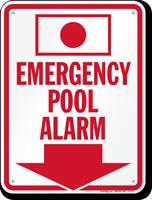 Emergency Pool Alarm (with Arrow)