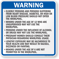 Wisconsin Spa Rules Sign