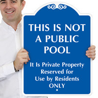 This Is Not A Public Pool SignatureSign