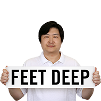 Feet Deep Pool Depth Marker