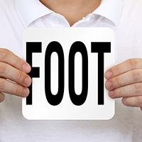 Foot Pool Depth Marker