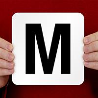 M Pool Depth Marker
