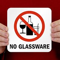 No Glassware Pool Marker