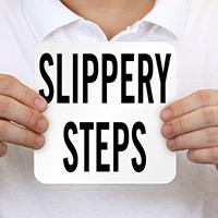 Slippery Steps Pool Marker