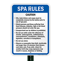Connecticut Spa Rules Sign