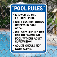 Illinois Spa Rules Signs