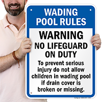Wading Pool Rules for North Carolina