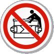 Do Not Climb ISO Sign