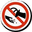 Do Not Feed Wildlife Symbol ISO Prohibition Sign