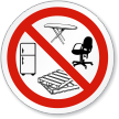 No Dumping ISO Prohibition Sign