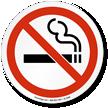 No Smoking Symbol ISO Circle Sign