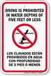 Bilingual Swimming Pool Rules Sign