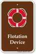 Flotation Device Pool Life Preserver Ring Symbol Sign