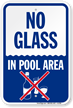 Swimming Pool Sign