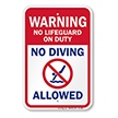 Pool Warning Sign
