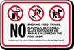 Prohibition Sign