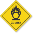 Oklahoma Oxidizer Pool Chemical Label