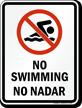 Bilingual Prohibition Sign