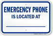 Emergency Phone North Carolina Pool Sign