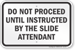 Illinois Water Slide Rule Sign